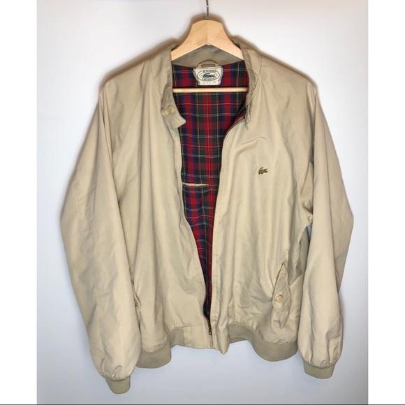 3c80ddb15b Vintage Mens Lacoste x Izod Full Zip jacket Large